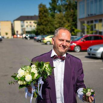 Vedėjas Arvydo Jaronskio iškilmės. Arvydas ir A5ko / ajaronskis7 / Darbų pavyzdys ID 986041