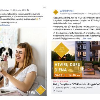 Reklama internete - Facebook, Instagram / Austė Musteikytė / Darbų pavyzdys ID 986283