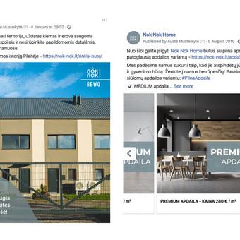 Reklama internete - Facebook, Instagram / Austė Musteikytė / Darbų pavyzdys ID 986285