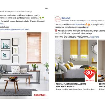Reklama internete - Facebook, Instagram / Austė Musteikytė / Darbų pavyzdys ID 986289