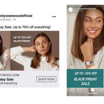 Reklama internete - Facebook, Instagram / Austė Musteikytė / Darbų pavyzdys ID 986291