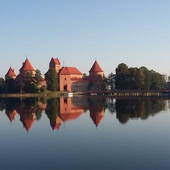 Gidas ir kelionių vadovas Vilniuje ir Baltijos regione / Petras Staselis / Darbų pavyzdys ID 988131