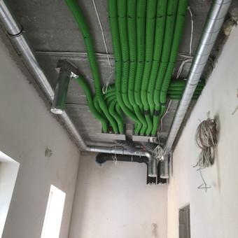Vedinimo , kondicionavimo , santechnikos darbai. / MB Ainoro sistemos / Darbų pavyzdys ID 988805