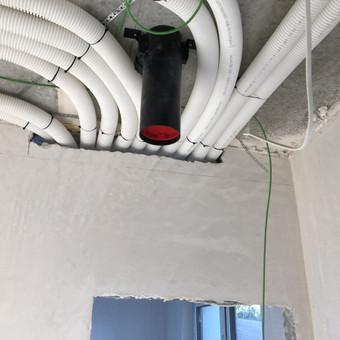 Vedinimo , kondicionavimo , santechnikos darbai. / MB Ainoro sistemos / Darbų pavyzdys ID 988807