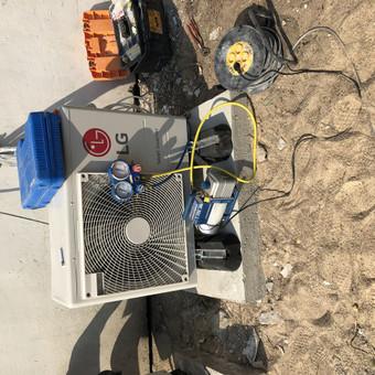 Vedinimo , kondicionavimo , santechnikos darbai. / MB Ainoro sistemos / Darbų pavyzdys ID 988813