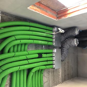 Vedinimo , kondicionavimo , santechnikos darbai. / MB Ainoro sistemos / Darbų pavyzdys ID 988819