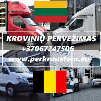 VOKIETIJA  - LIETUVA Kroviniu Pervezimas / voris / Darbų pavyzdys ID 989539