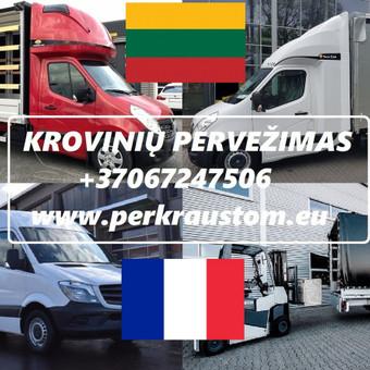 VOKIETIJA  - LIETUVA Kroviniu Pervezimas / voris / Darbų pavyzdys ID 989553