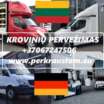VOKIETIJA  - LIETUVA Kroviniu Pervezimas / voris / Darbų pavyzdys ID 989555