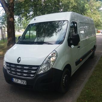 Krovininių mikroautobusų nuoma / UAB  GRIOVENE / Darbų pavyzdys ID 991593