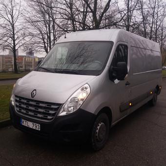 Krovininių mikroautobusų nuoma / UAB  GRIOVENE / Darbų pavyzdys ID 991595