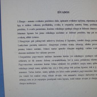 Studentų konsultavimas rengiant rašto darbus / Dana / Darbų pavyzdys ID 991751