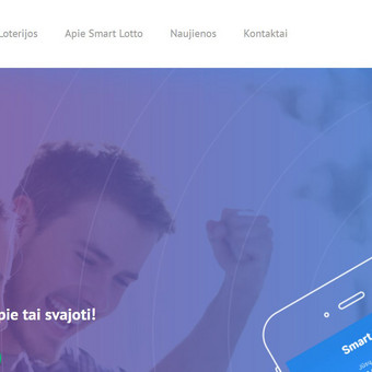 Sukurta internetinė loterija, integruoti mokėjimai kreditine kortele, arba per Paysera.