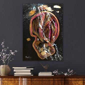 Moderni tapyba ant drobės - Paveikslai interjerui / Monisha Art / Darbų pavyzdys ID 994253