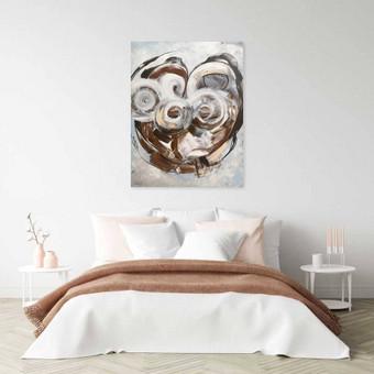 Moderni tapyba ant drobės - Paveikslai interjerui / Monisha Art / Darbų pavyzdys ID 994257