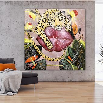 Moderni tapyba ant drobės - Paveikslai interjerui / Monisha Art / Darbų pavyzdys ID 994261