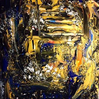 Moderni tapyba ant drobės - Paveikslai interjerui / Monisha Art / Darbų pavyzdys ID 994405