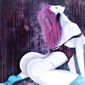 Moderni tapyba ant drobės - Paveikslai interjerui / Monisha Art / Darbų pavyzdys ID 994421