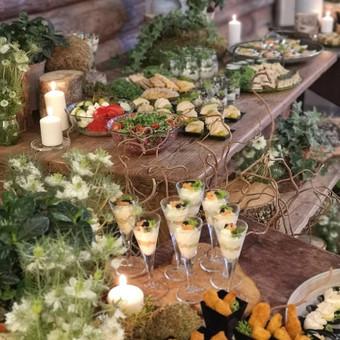 Išvežamieji renginiai. Vestuvės, verslo renginiai. / Food Stories / Darbų pavyzdys ID 996413