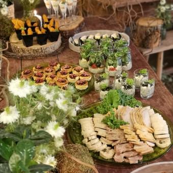 Išvežamieji renginiai. Vestuvės, verslo renginiai. / Food Stories / Darbų pavyzdys ID 996427
