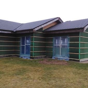 Karkasiniu namu statyba remontas  renovavimas Stogu dengimas / ovidijus / Darbų pavyzdys ID 997997