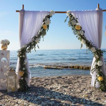 Vestuvių ir kitų gyvenimo švenčių dekoras/stilizavimas / Vilma Unikienė / Darbų pavyzdys ID 1001245
