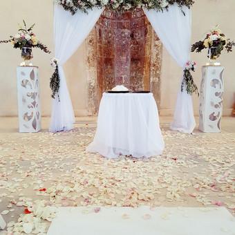 Vestuvių ir kitų gyvenimo švenčių dekoras/stilizavimas / Vilma Unikienė / Darbų pavyzdys ID 1001247