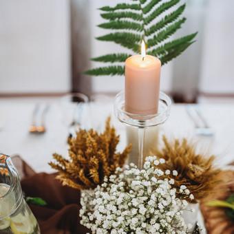 Vestuvių ir kitų gyvenimo švenčių dekoras/stilizavimas / Vilma Unikienė / Darbų pavyzdys ID 1001293