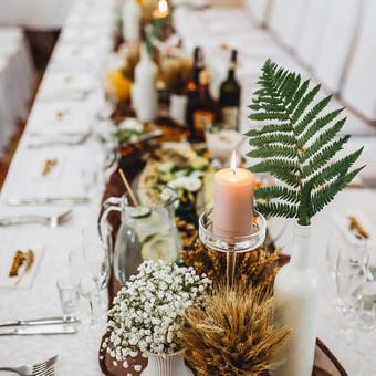 Vestuvių ir kitų gyvenimo švenčių dekoras/stilizavimas / Vilma Unikienė / Darbų pavyzdys ID 1001295