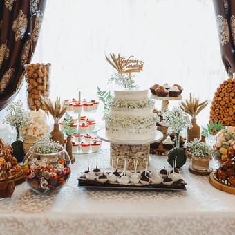 Vestuvių ir kitų gyvenimo švenčių dekoras/stilizavimas / Vilma Unikienė / Darbų pavyzdys ID 1001297