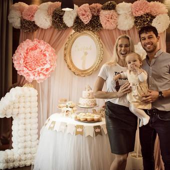 Vestuvių ir kitų gyvenimo švenčių dekoras/stilizavimas / Vilma Unikienė / Darbų pavyzdys ID 1001307