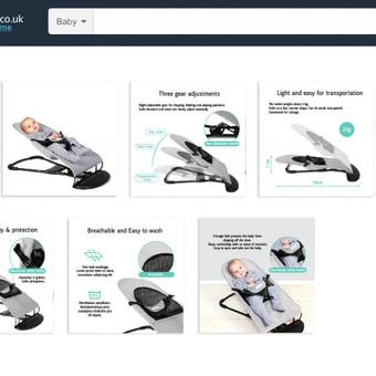 Produkto ir jo ikonografijos paruošimas Amazon prekybai pagal Amazon reikalavimus.