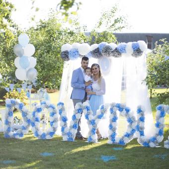 Vestuvių ir kitų gyvenimo švenčių dekoras/stilizavimas / Vilma Unikienė / Darbų pavyzdys ID 1001331