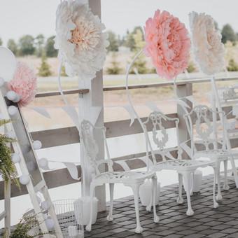 Vestuvių ir kitų gyvenimo švenčių dekoras/stilizavimas / Vilma Unikienė / Darbų pavyzdys ID 1001351