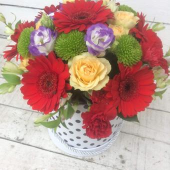 Dalios Gėlės - puokštės, kompozicijos, gėdulo vainikai / Dalia Pranskevičienė / Darbų pavyzdys ID 1001511