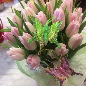 Dalios Gėlės - puokštės, kompozicijos, gėdulo vainikai / Dalia Pranskevičienė / Darbų pavyzdys ID 1001525