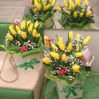 Dalios Gėlės - puokštės, kompozicijos, gėdulo vainikai / Dalia Pranskevičienė / Darbų pavyzdys ID 1001527