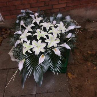Dalios Gėlės - puokštės, kompozicijos, gėdulo vainikai / Dalia Pranskevičienė / Darbų pavyzdys ID 1001529