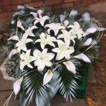 Dalios Gėlės - puokštės, kompozicijos, gėdulo vainikai / Dalia Pranskevičienė / Darbų pavyzdys ID 1001531