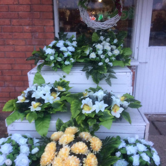 Dalios Gėlės - puokštės, kompozicijos, gėdulo vainikai / Dalia Pranskevičienė / Darbų pavyzdys ID 1001535