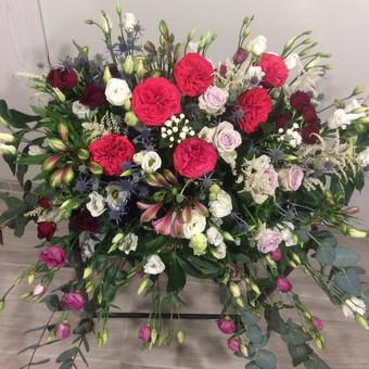 Dalios Gėlės - puokštės, kompozicijos, gėdulo vainikai / Dalia Pranskevičienė / Darbų pavyzdys ID 1001539