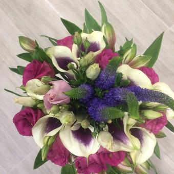 Dalios Gėlės - puokštės, kompozicijos, gėdulo vainikai / Dalia Pranskevičienė / Darbų pavyzdys ID 1001553