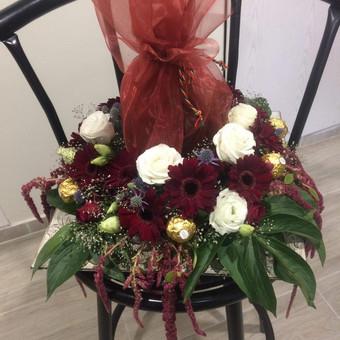 Dalios Gėlės - puokštės, kompozicijos, gėdulo vainikai / Dalia Pranskevičienė / Darbų pavyzdys ID 1001555