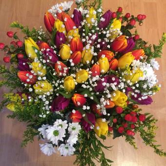 Dalios Gėlės - puokštės, kompozicijos, gėdulo vainikai / Dalia Pranskevičienė / Darbų pavyzdys ID 1001559