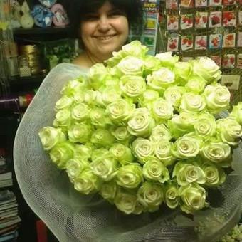 Dalios Gėlės - puokštės, kompozicijos, gėdulo vainikai / Dalia Pranskevičienė / Darbų pavyzdys ID 1001563