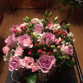 Dalios Gėlės - puokštės, kompozicijos, gėdulo vainikai / Dalia Pranskevičienė / Darbų pavyzdys ID 1001571