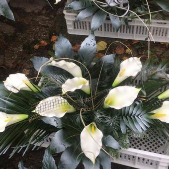 Dalios Gėlės - puokštės, kompozicijos, gėdulo vainikai / Dalia Pranskevičienė / Darbų pavyzdys ID 1001635