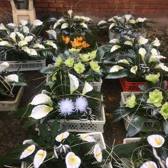 Dalios Gėlės - puokštės, kompozicijos, gėdulo vainikai / Dalia Pranskevičienė / Darbų pavyzdys ID 1001637