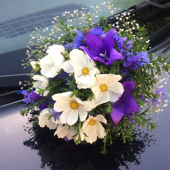 Dalios Gėlės - puokštės, kompozicijos, gėdulo vainikai / Dalia Pranskevičienė / Darbų pavyzdys ID 1001643