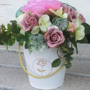 Dalios Gėlės - puokštės, kompozicijos, gėdulo vainikai / Dalia Pranskevičienė / Darbų pavyzdys ID 1001651
